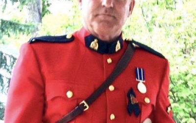 Thank you Geoff Buxcey for joining in support of Police on Guard for Thee.