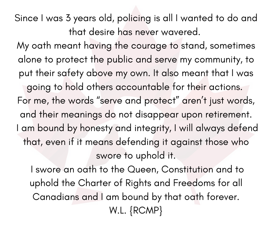 What our Oath means to us April 30th