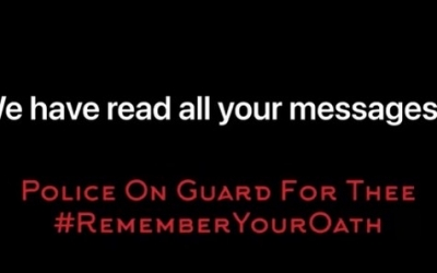 Police on Guard for Thee's We have read all your messages Video