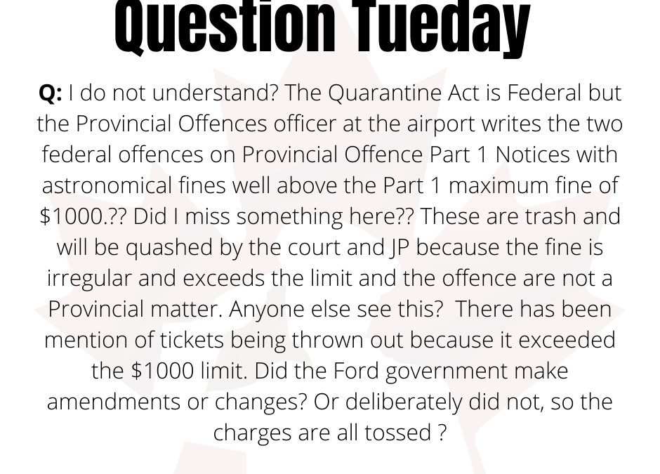 Question Tuesday