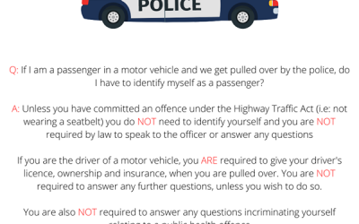 Throwback Thursday : Rights of a Passenger in a Motor Vehicle