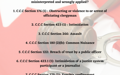 What possible criminal jeopardy could an individual face If public health legislation is misinterpreted and wrongly applied?