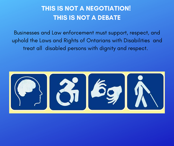 Exemptions are valid under the law.  The rights of those with disabilities must be upheld.