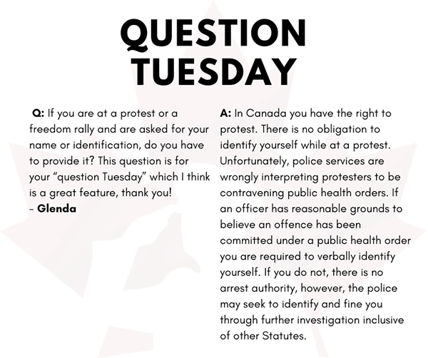 Question Tuesday March 9