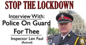 Stop the Lockdown Interview with Julius Ruechel & Police on Guard's Len Faul