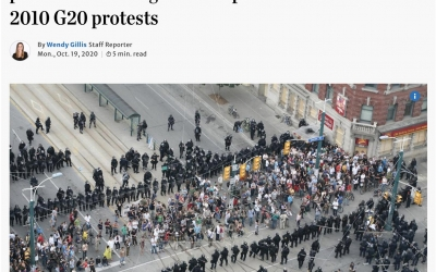 Will History Repeat Itself? Remember when Toronto Police acknowledged Mass Arrests at G20 were unacceptable?