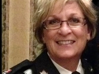 Thank you Vicki Montgomery for joining in support of Police on Guard for Thee.