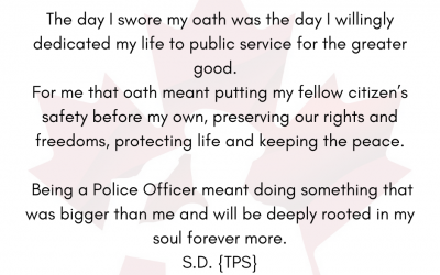 What our Oath means to us
