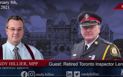 Interview with Randy Hillier MPP & Police on Guard for Thee's Len Faul