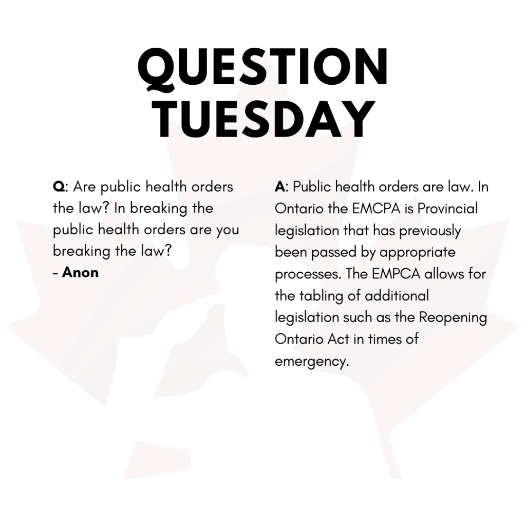 Question Tuesday April 13th