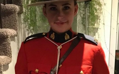 Thank you Nadine Ness for joining in support of Police on Guard for Thee.