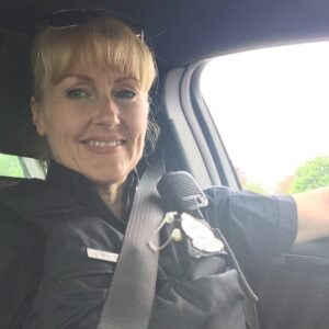 Thank you Jo-Ann Molineux for joining in support of Police on Guard for Thee.