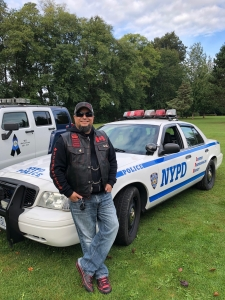 Thank you Mickey Mansoor for joining in support of Police on Guard for Thee.