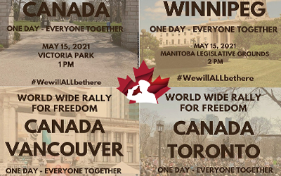 May 15th, World Wide Rally for Freedom