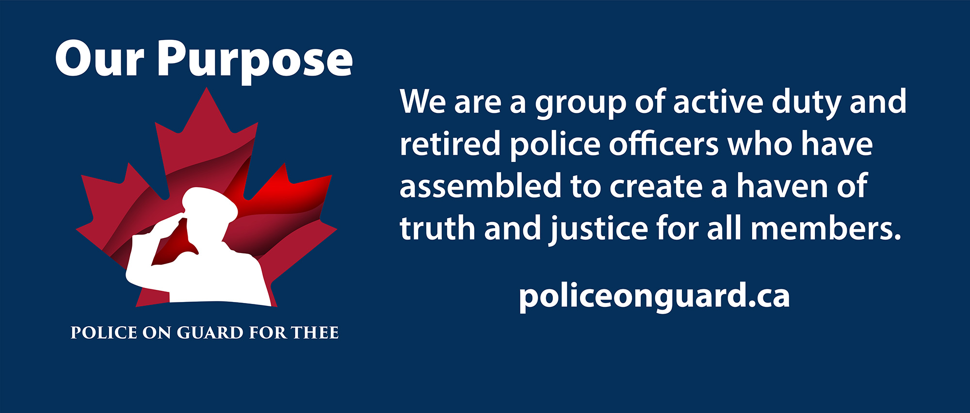 Police on Guard for Thee - Sign the petition
