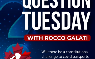 Question Tuesday with Rocco -Vaccine Passports