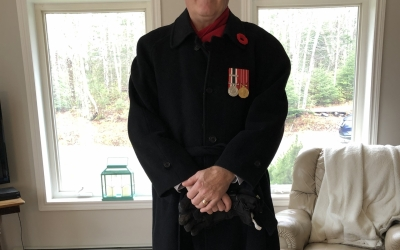 Thank you Lloyd Hillier for joining in support of Police on Guard for Thee.