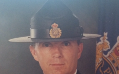 Thank you Steve Irving for joining in support of Police on Guard for Thee.
