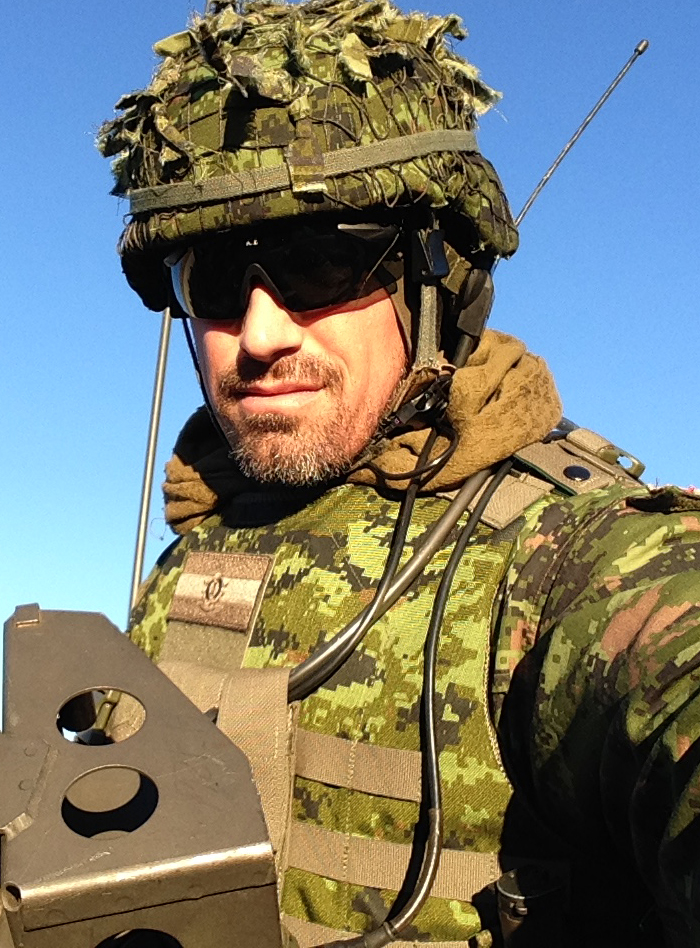 Thank you Eric Prud'homme for joining in support of Police on Guard for Thee.